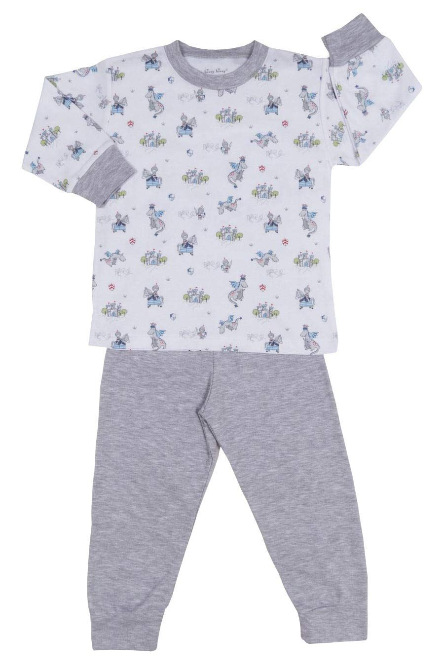 Kissy Kissy Babyboys Infant King Of The Castle Print Long Pajamas Setmulticolored1218 Months Kids Fashion Clothes Little Boy Outfits Baby Boy Clothes Newborn