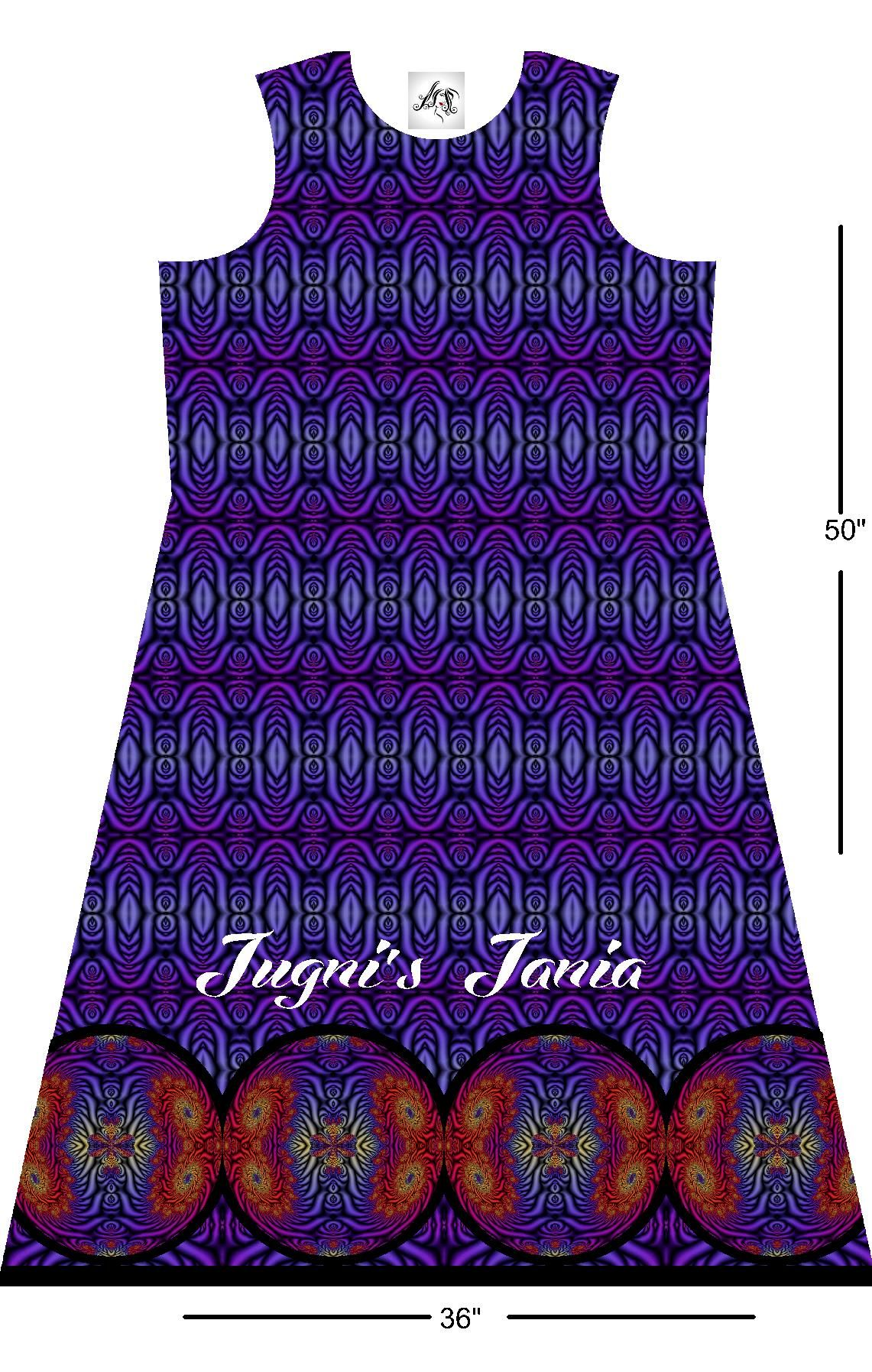 Digital print Long Shirt Front Design: Size 36x50 For