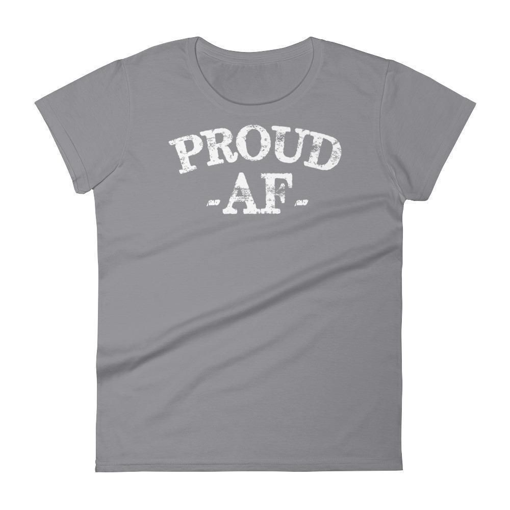 Women's Proud AF Graduate t-shirt - Funny back to school gift