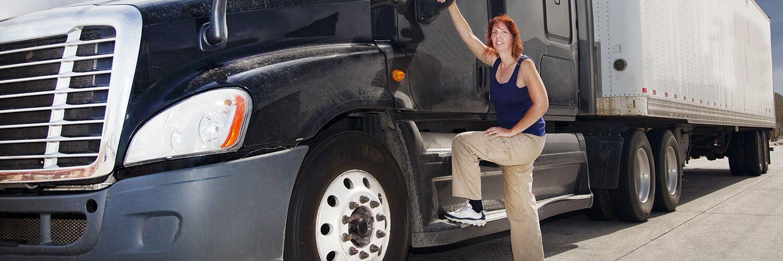 Truck Driver Women Truck Driver Truck Driving Jobs