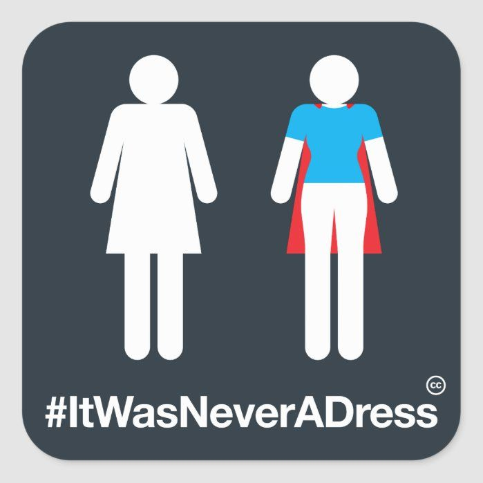 #ItWasNeverADress is an invitation to shift perceptions and assumptions about women. When we see women differently...we see the world differently.
