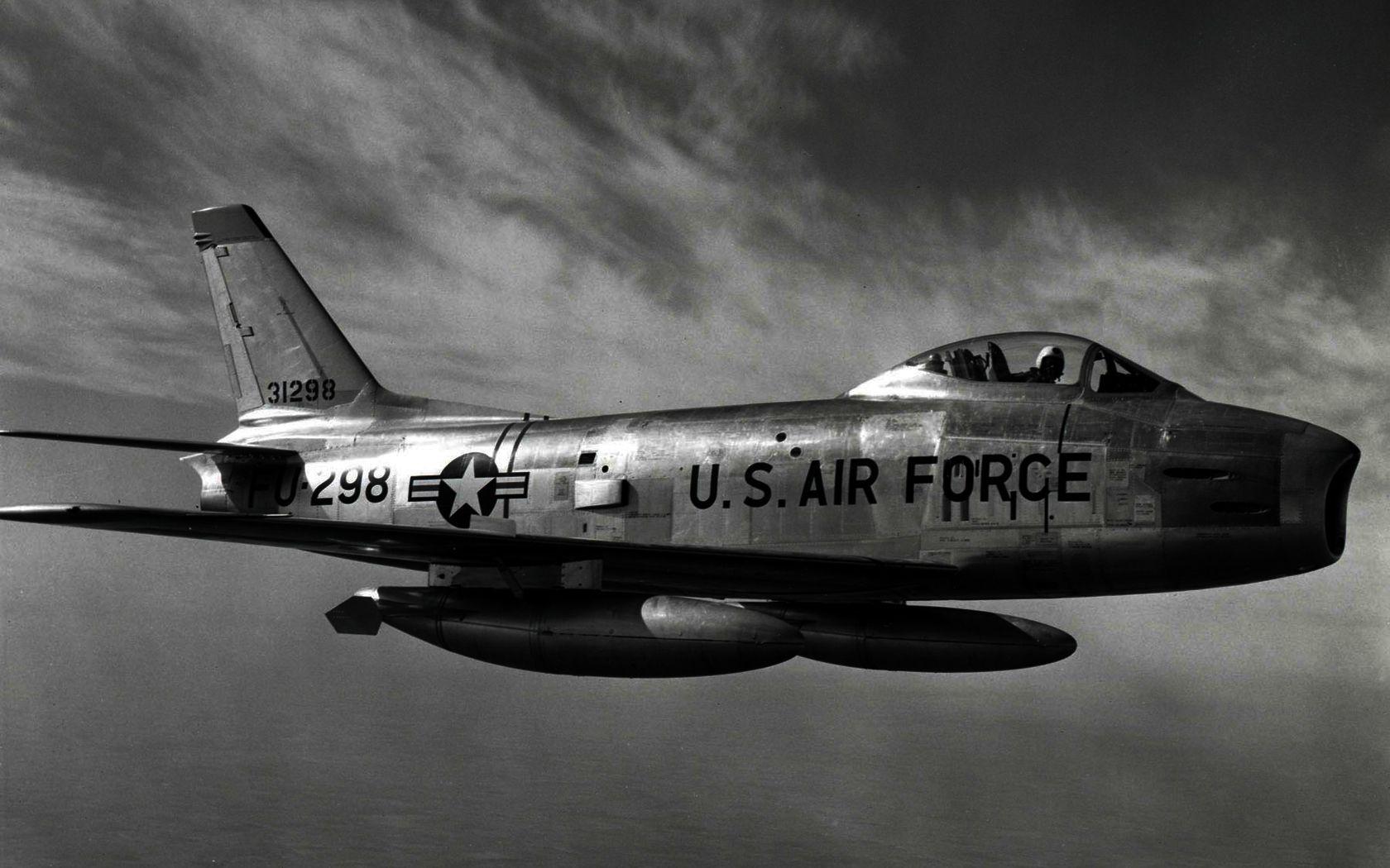 Обои F-86 Sabre, Самолёт. Авиация foto 12