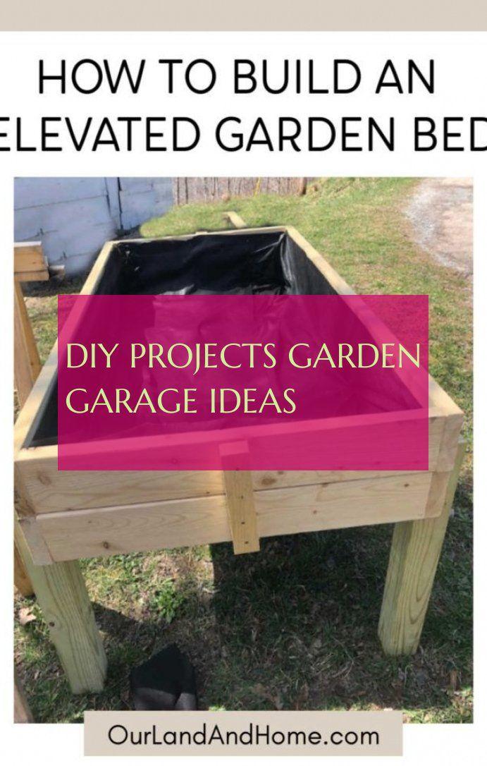 DIY Projects garden garage ideas