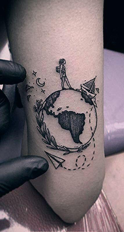 Photo of 66+ Trendy travel tattoo world globes