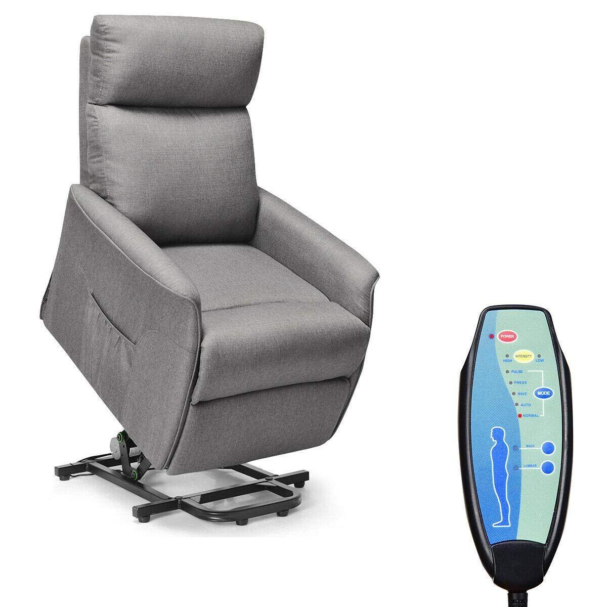 Giantex Power Lift Massage Recliner Chair for Elderly