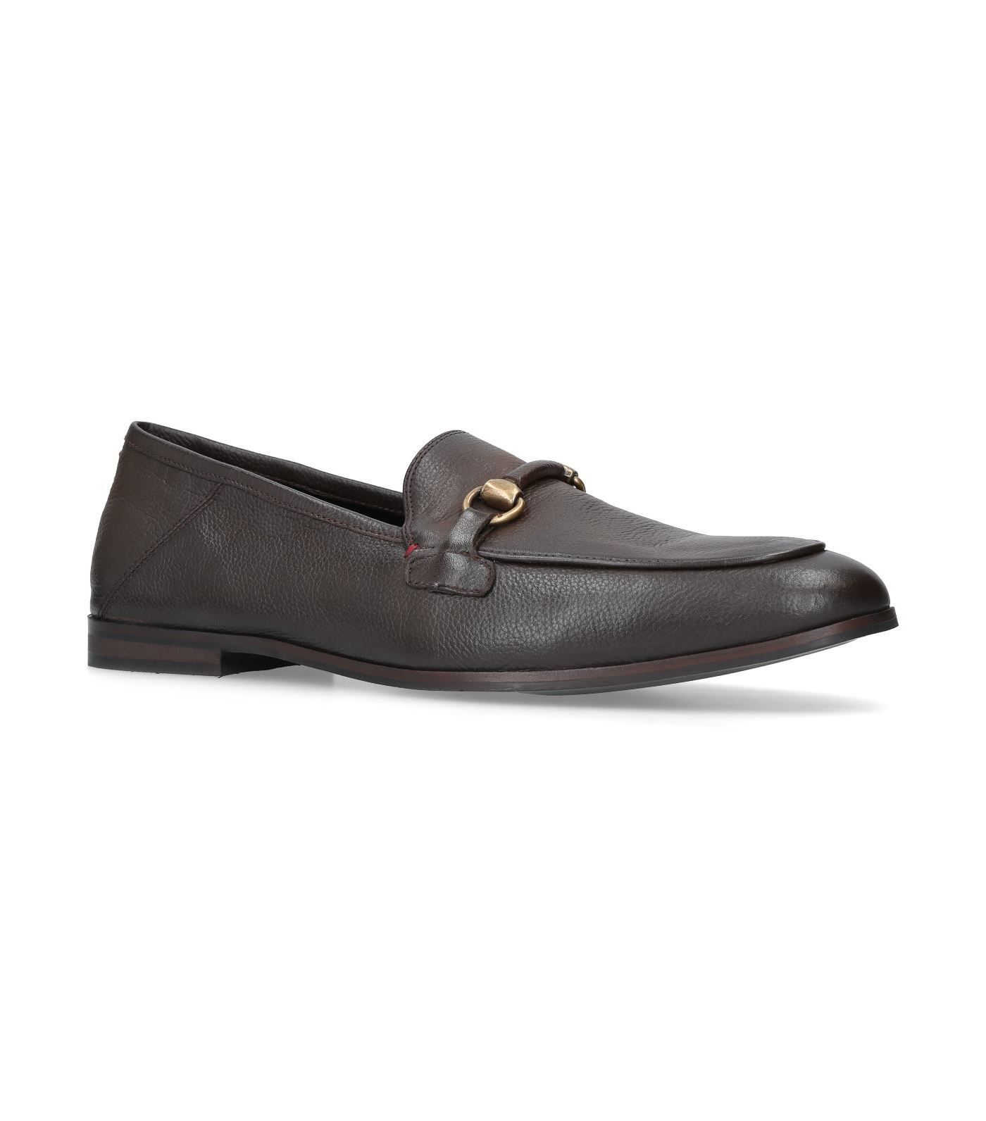 Latest Kurt Geiger London Black Lloyd Leather Loafers for Men Sale Online