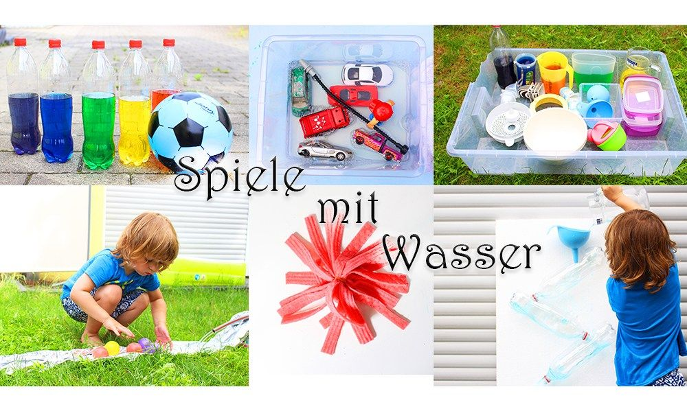 6 coole spiele mit wasser f r kleinkinder video kinder pinterest kinder spiele und. Black Bedroom Furniture Sets. Home Design Ideas