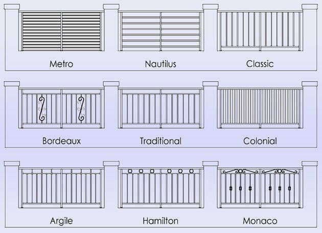 Image result for fence designs craftsman decks pinterest image result for fence designs workwithnaturefo