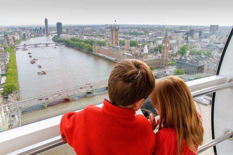 Image result for London Eye children