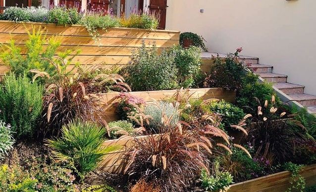 cr ation d 39 un jardin en espalier r ve de jardin pinterest patios. Black Bedroom Furniture Sets. Home Design Ideas