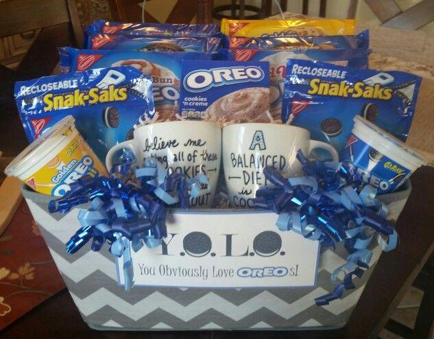 Oreo lovers gift basket gift baskets pinterest gift basket oreo lovers gift basket negle Images