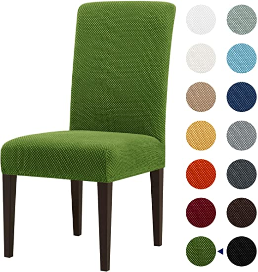 subrtex Dining Room Chair Slipcovers Jacquard