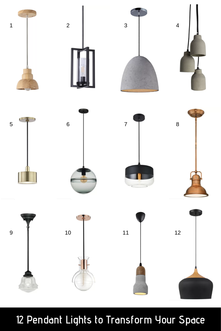 Affordable Pendant Lighting Home Diy