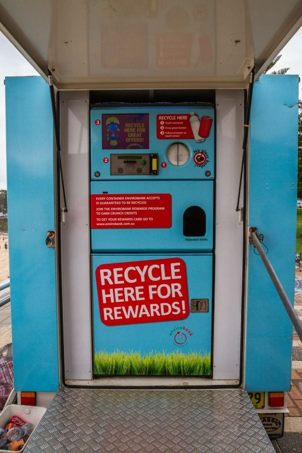Have you ever used a reverse vending machine? | Vending