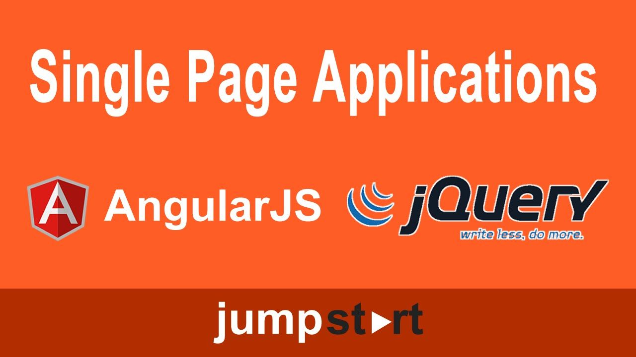 Tutorials Single Page Applications With Jquery Or Angular Js