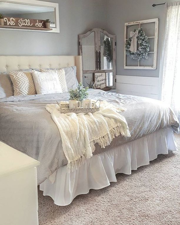 Stunning small master bedroom decorating ideas 64 in 2019 ...