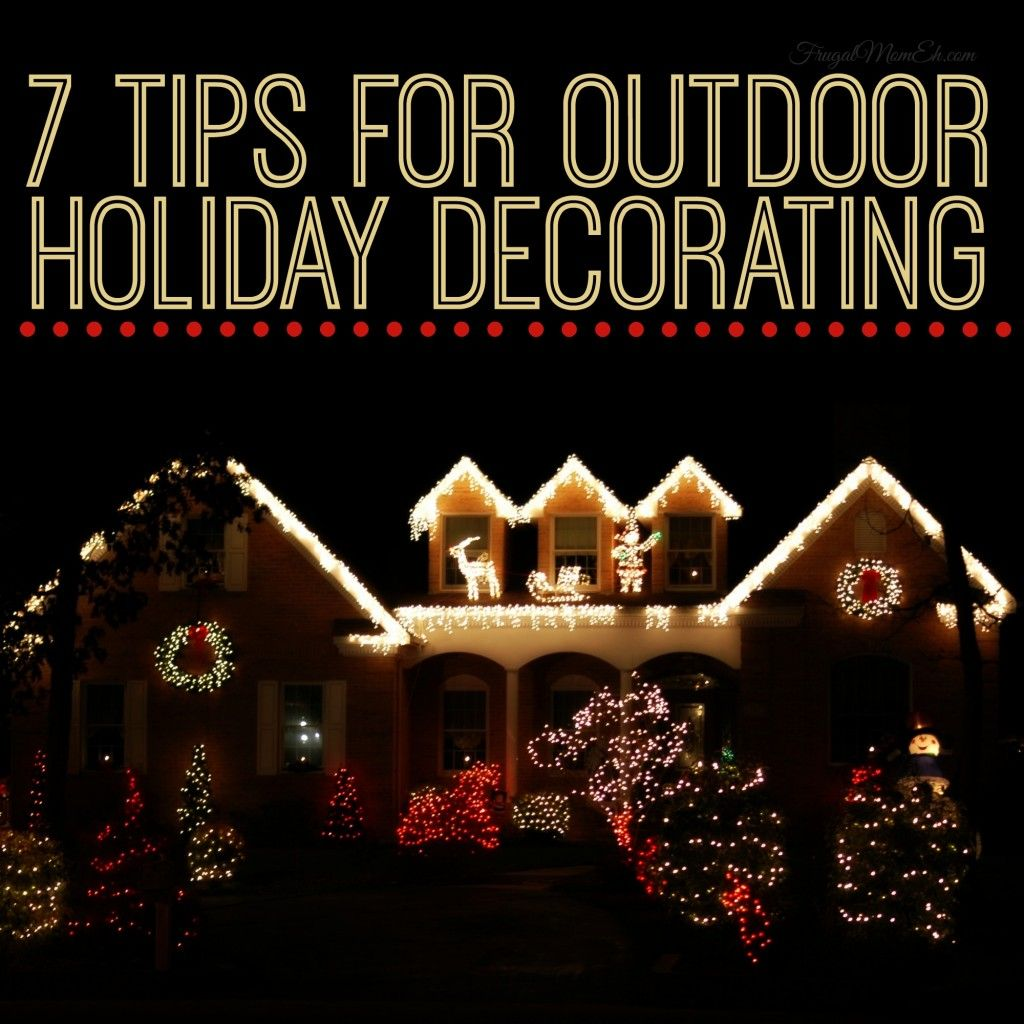 tips for outdoor holiday decorating decking decorating and