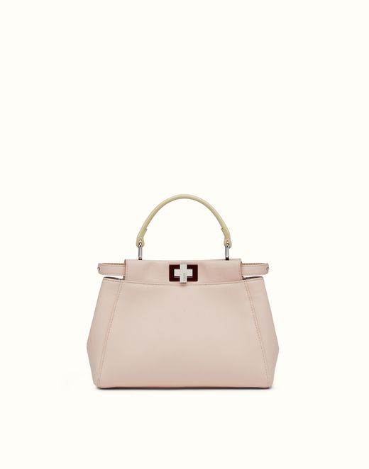 MINI PEEKABOO - handbag in pink nappa. Discover the new collections on Fendi  official website. Ref  8BN24468HF09DL 58b70a37244fb