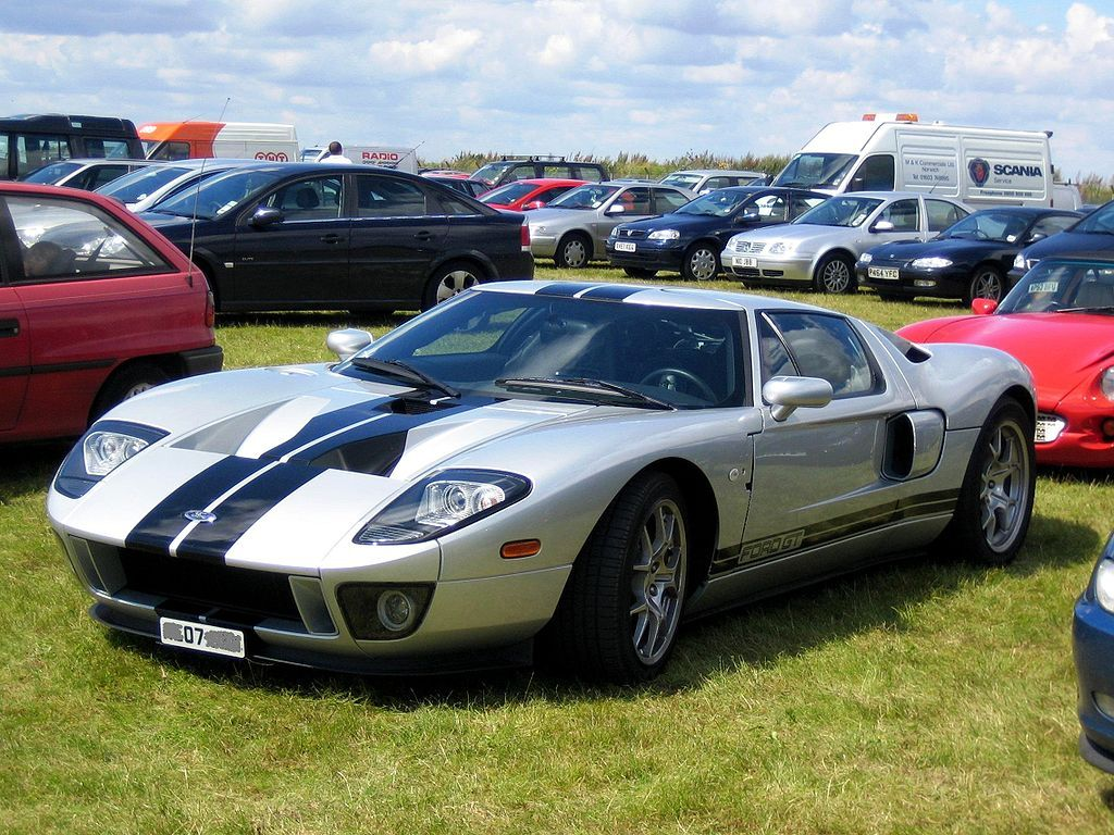 Ford Gt At Snetterton Ford Gt Wikipedia The Free Encyclopedia