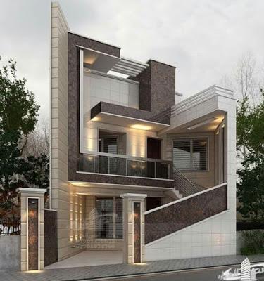 Exterior Wall Design Modern House Front Facade Design Ideas 2019 Bungalow House Design Duplex House Design Cool House Designs