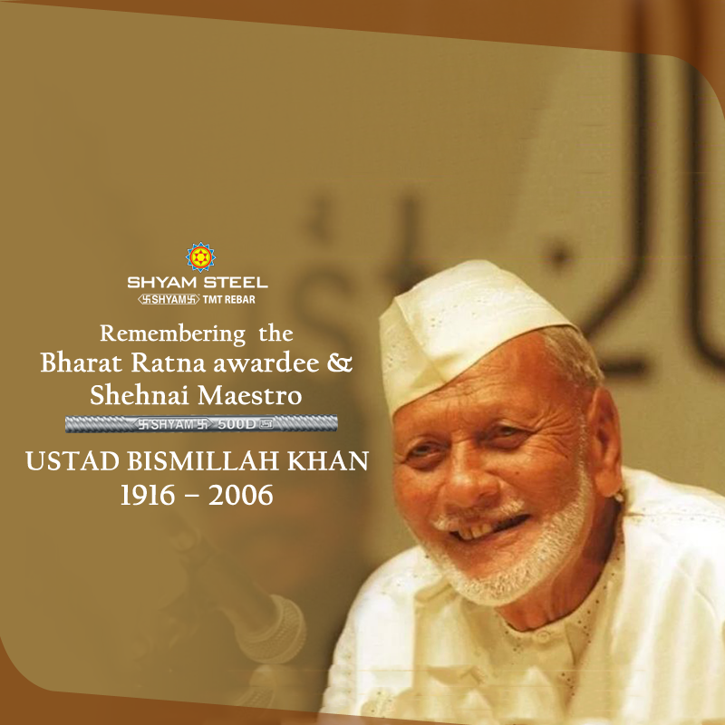 Ustad Bismillah Khan Often Referred To By The Title Ustad Was An Indian Musician Credited With Popularizing The Shehn Bismillah Khan Classical Musicians Khan
