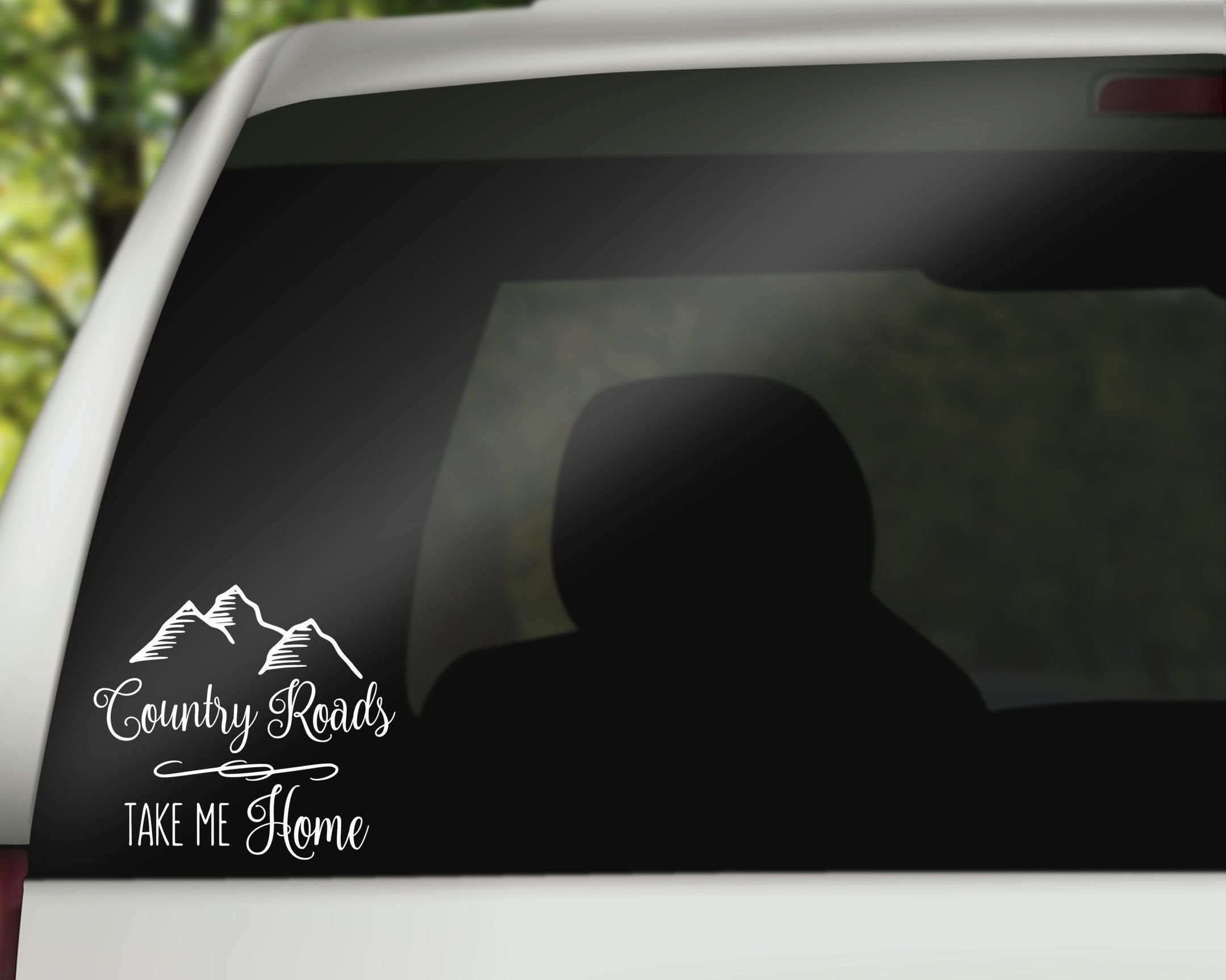 Country Roads Take Me Home Decal Car Decal West Virginia Etsy Country Roads Take Me Home Take Me Home Country Roads [ 1727 x 2159 Pixel ]