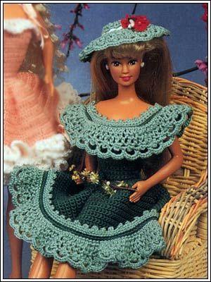 Barbie Crochet Sherry Pattern Crochet Poupes Jouets