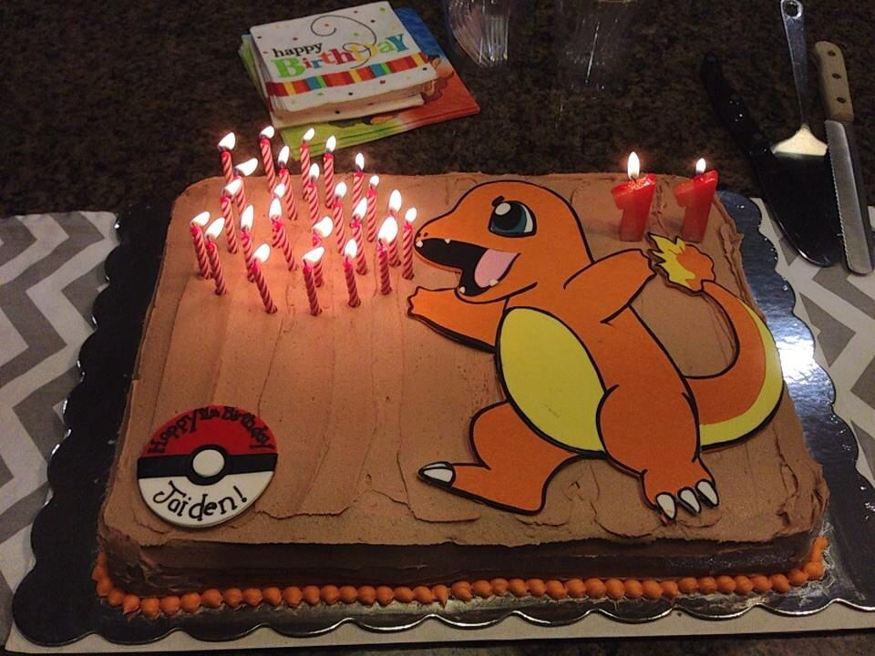 Charmander cake! Charmander and pokeball made by the Cupcake forge ...