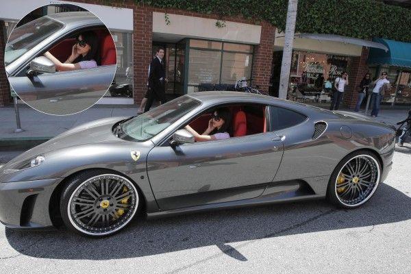 Ferrari F430 (© Rex Features)   Kin  Kardashian