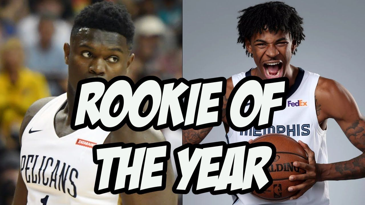 Who can steal rookie of the year from zion williamson