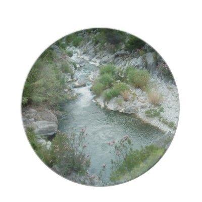 River Through the Mountain plate