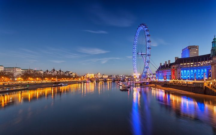 An Hd Background That Takes A Stunning Look At London