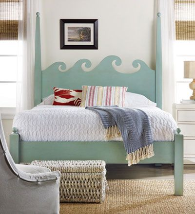 Cottage Style Sofas | Coastal Cottage Style Furniture   Beds   North Shore  Bed   Cottage .