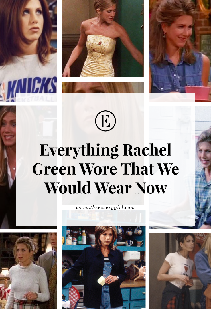 Everything Rachel Green Wore That We Would Wear Now #rachelgreenoutfits