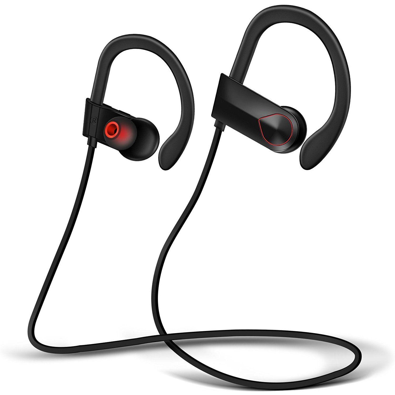 Bluetooth Headphones, Sharko Wireless Runner Headset Sport