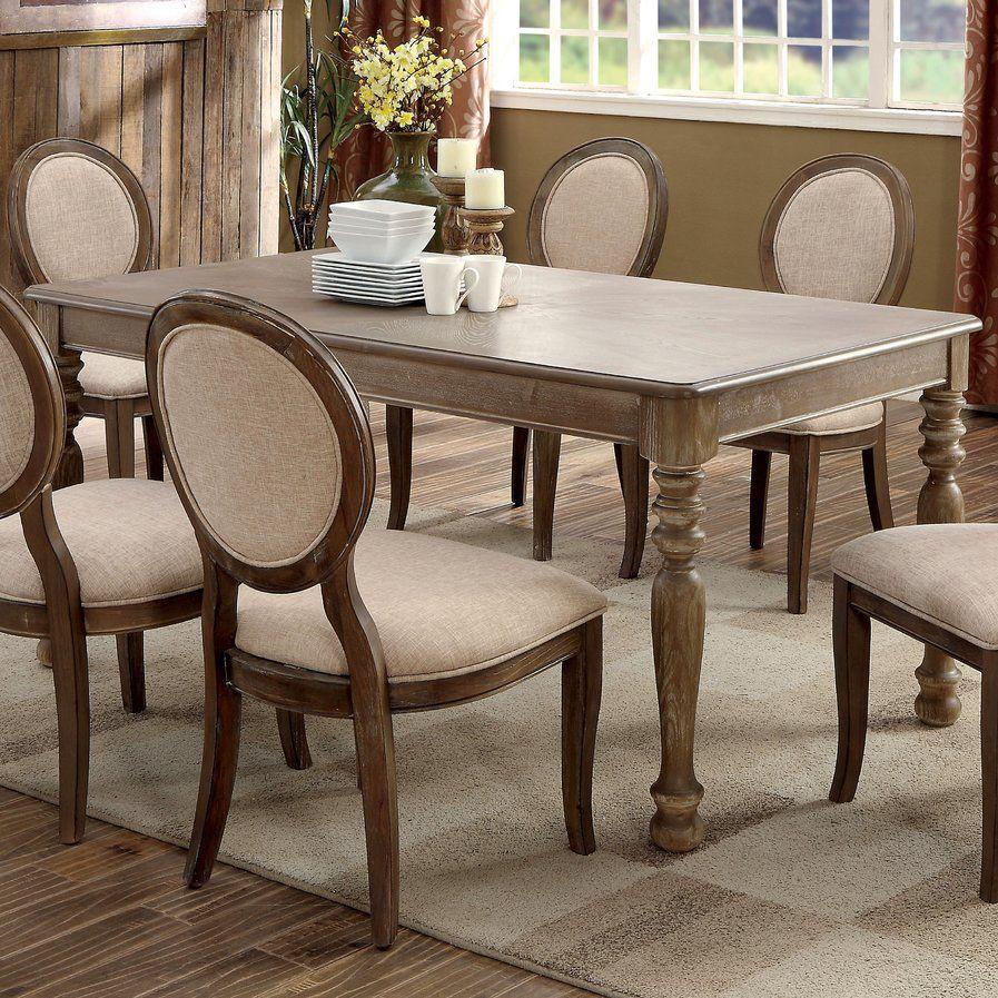 meniko transitional dining table  dining furniture sets