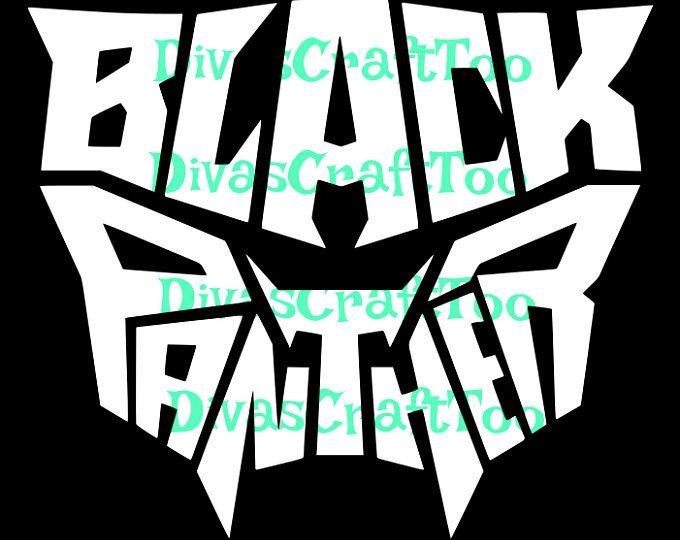 black panther word art svg svg cricut blackpanther rh pinterest co uk black panther marvel logo patch Black Panther Marvel Coloring Pages