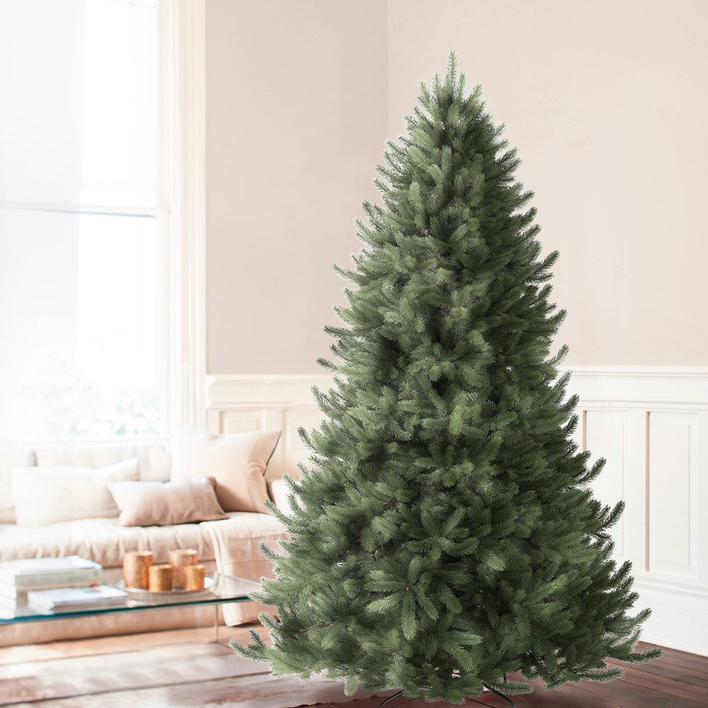 How To Put Ribbon On A Christmas Tree Tutorial Best Artificial Christmas Trees Cool Christmas Trees Christmas Tree