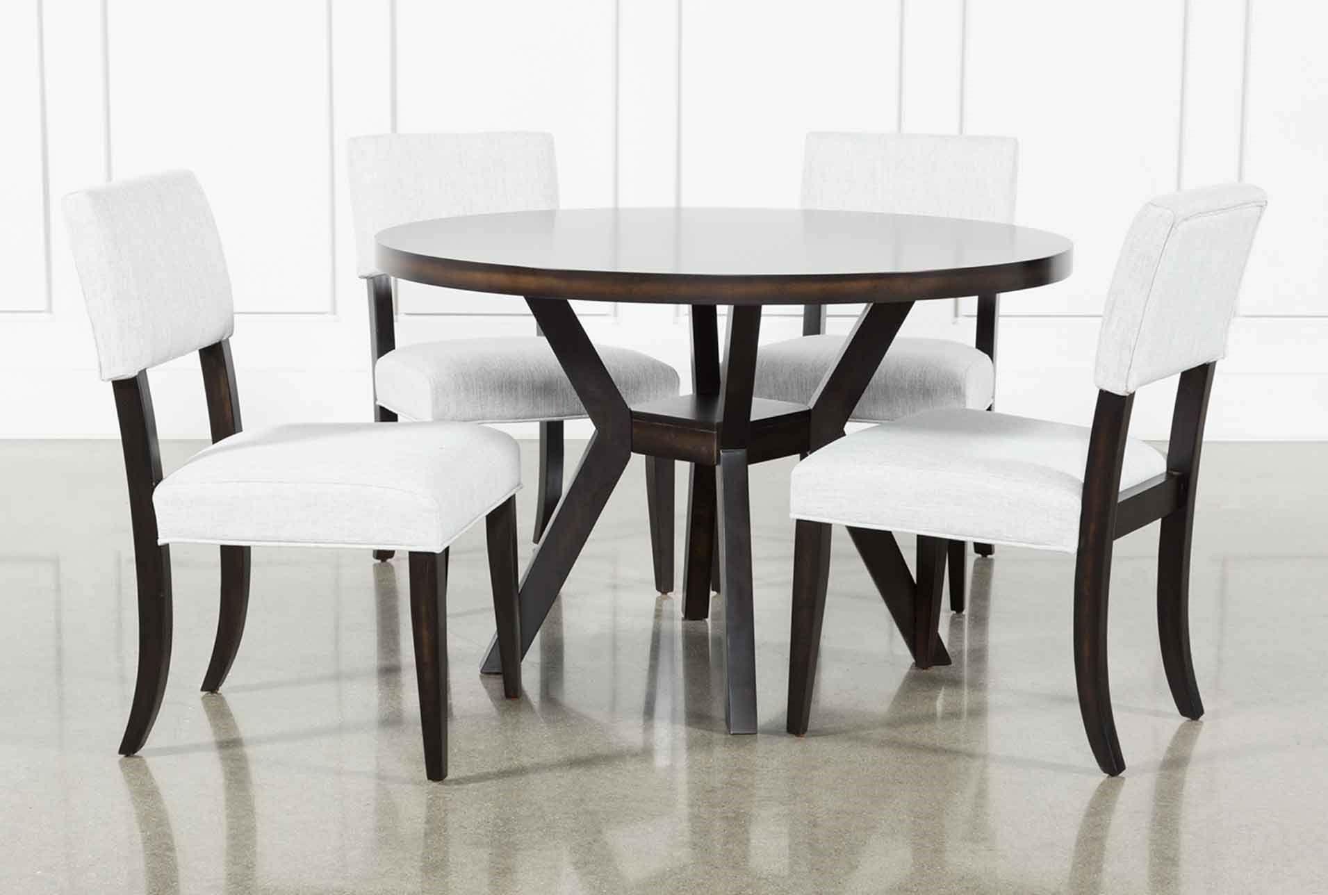 Macie Black 5 Piece Dining Set 540 Dining Room Inspiration 5