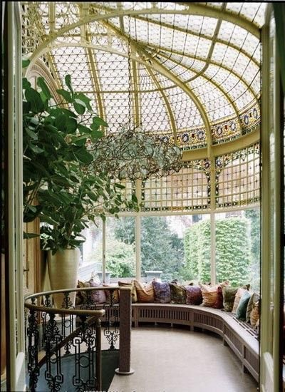 Gorgeous Atrium...could read a book all day here.