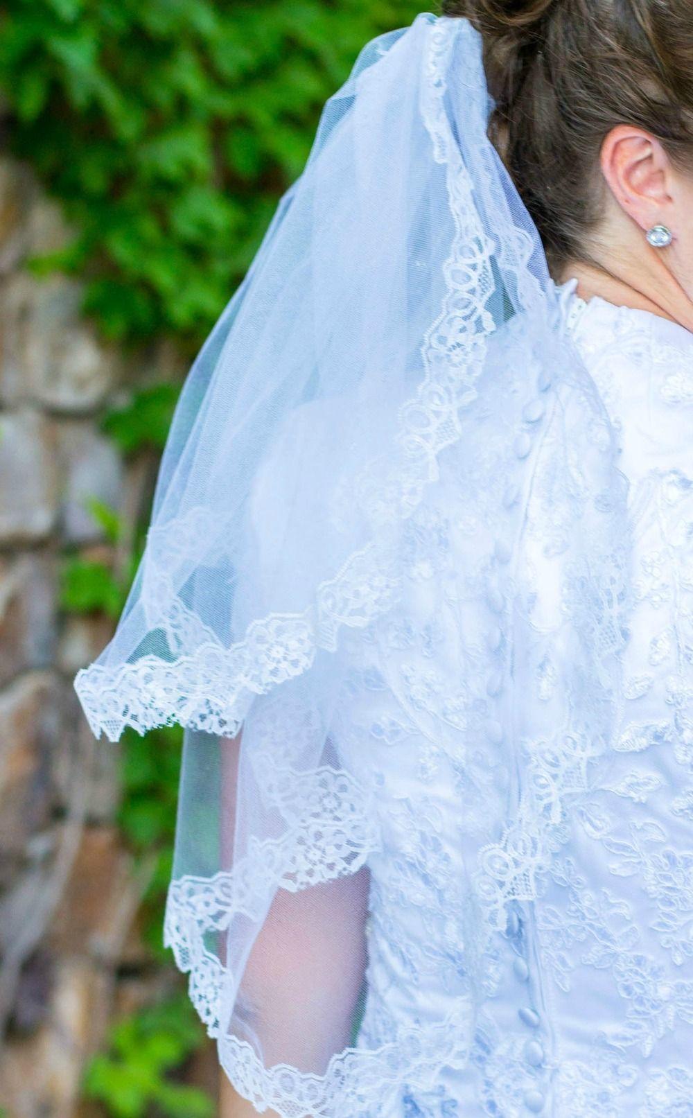 Easy Wedding Veil  Doll clothes  Pinterest  Veil Tutorials and