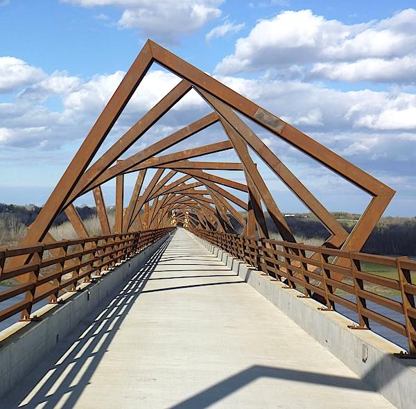 Iowa's High Trestle Trail Bridge