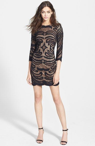 Alexia Admor 'Davy' Lace Body-Con Dress available at #Nordstrom