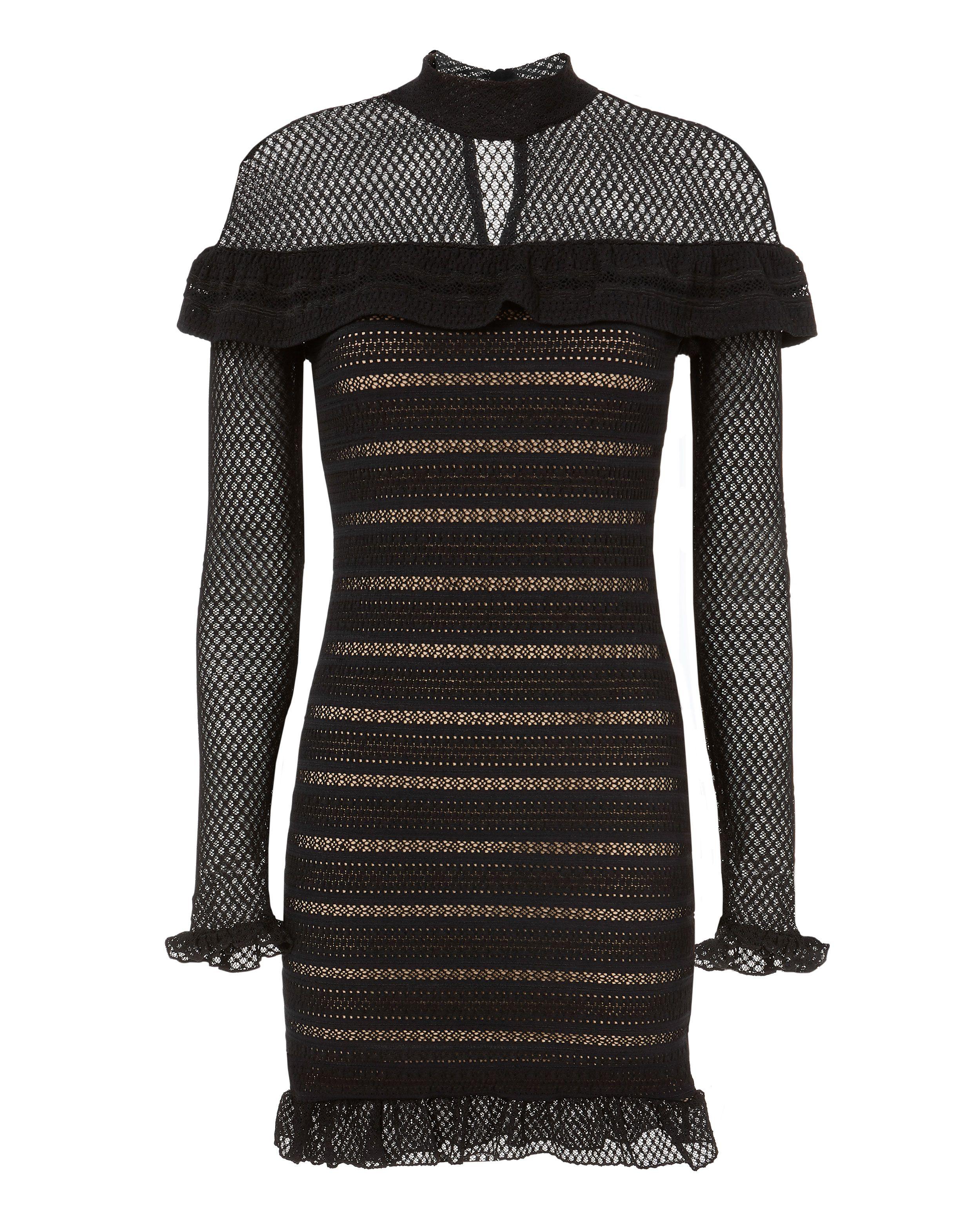 Nightcap Clothing Mariabella Lace Mini Dress Modesens Mini Dress Fashion Lace Mini Dress Mini Black Dress