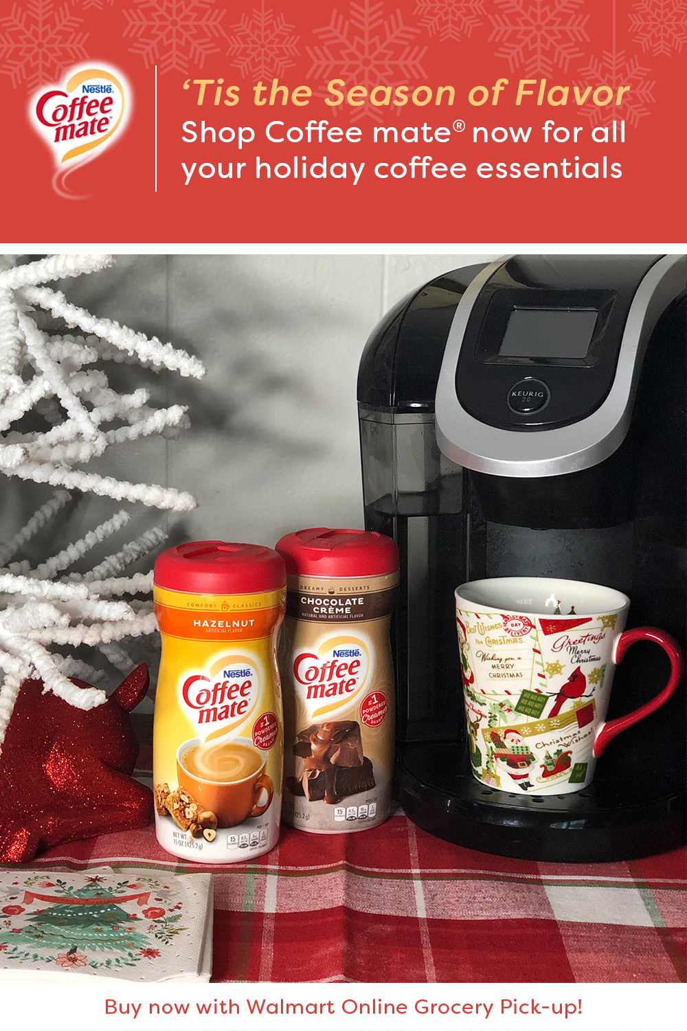 Wake up your outoftown guests this holiday season with a