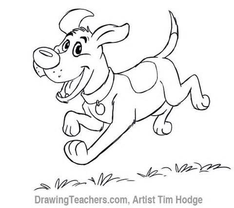 Turbo Comment dessiner un chien Cartoon ? | Colouring Book | Pinterest  EQ01