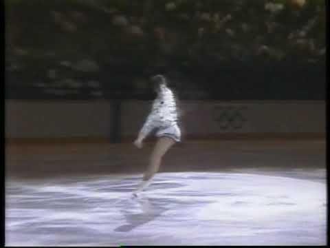 Katarina Witt. Figure skating exhibitions 1988.