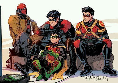 Bat - Sons (álbum) - brothers 3 | Batman | Batman family, Bat family