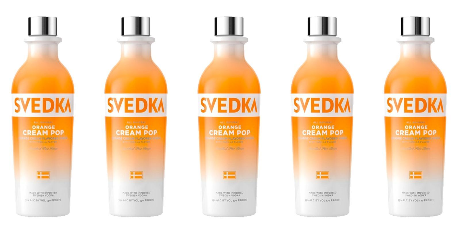 Orange Creamsicle Vodka Exists So We Re Never Drinking Boring Booze Again Best Flavored Vodka Flavored Liquor Flavored Vodka