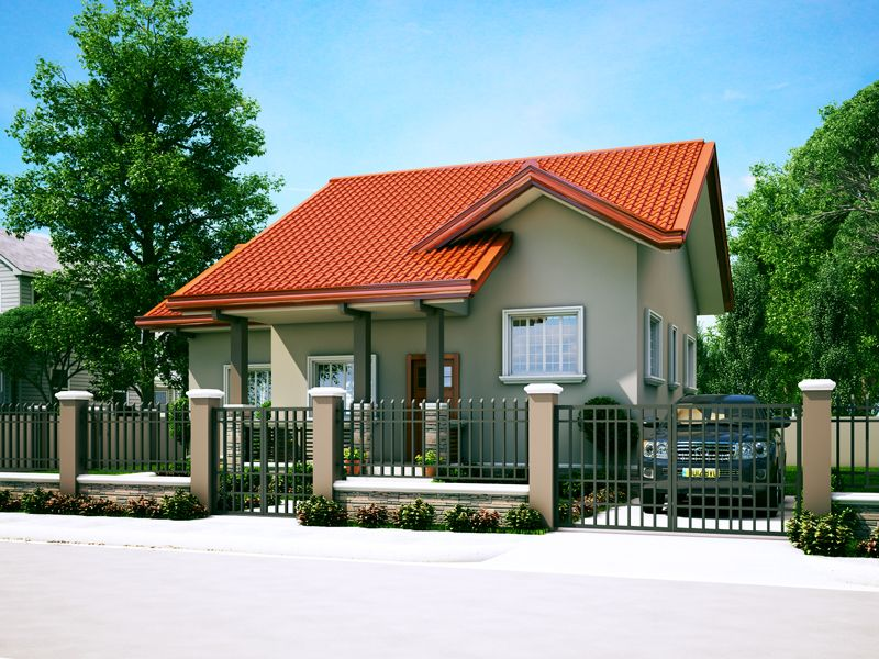 Small House Designs Series Shd 2014006v2 Pinoy Eplans Small House Design Beautiful Small Homes Philippines House Design